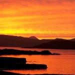 Easedale Island Sunset