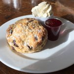 A scone at the Storehouse