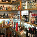 Gin selection at the Storehouse