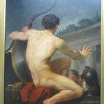 Oui, ilestrare de voir dans l'art le nu au masculin!!!