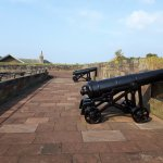 Cannons on the walls
