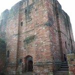 The stone keep of Carlisle Castle