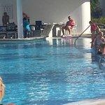Swim up suite block