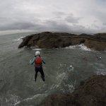 Jumping off 5 meter cliffs!!