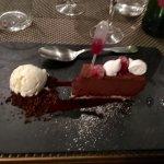 Croquant au chocolat et framboise