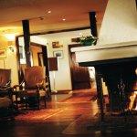 Sola Strand Hotel, fireplace