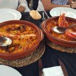 Arroz con mariscos vs arroz con carabineros