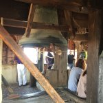 The bells at the top of the tower