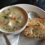 Appetizer size corn chowder