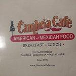 Foto de Cambria Cafe