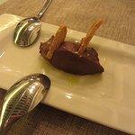 Salted chocolate ganache
