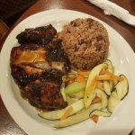 Jerk Chicken meal, excellent!