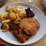 Bra schnitzel med lingon