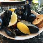 A mountain of mussels!