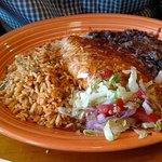 Chicken enchilada lunch combo