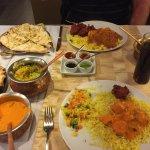 Chicken Tikka Masala and Vindaloo