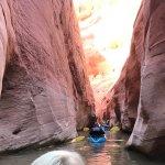 Kayaking Antelope Canyon