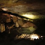 Inside the Cave of the Winds, Manitou Springs CO