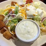 $8.99 Lunch Combo - House salad with Bleu Cheese