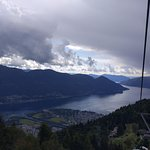 Ausblick auf Locarno&Ascona und Lago Maggiore