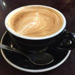 Flat White Coffee enjoyable, good strength.