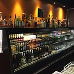 Drinks selection - many bottled beers to choose from plus tap beer.