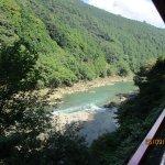 嵐山嵯峨野 トロッコ列車の写真