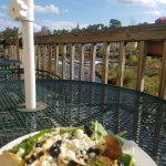 Blueberry Bleu Salad with a view!