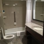 Nice bathroom and spacious, too!