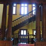 2階に上がる階段部分