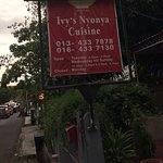 A small restaurant with probably only 5 tables. Excellent service and beef rendang & acar awak.