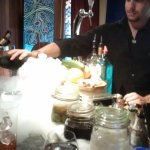 Making a cold beverage