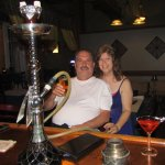 Hookah was very relaxing. Anthony & Patti (from New Jersey)