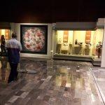 Museo Nacional de Antropologia - Cleaning in progress