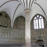 Austere chapter house