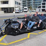 We have had such fun today with V8 trike tours at Mt Maunganui.