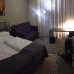 Schicke, renovierte Zimmer.