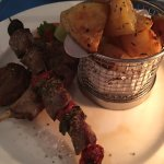 lamb platter for 1