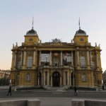 Photo of Croatian National Theatre in Zagreb