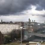 View from the Hilton, Glasgow