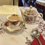 Prince Albert cups and saucers