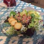 Tuna salad starter