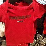 Fuggedaboutit says it all, kid's outfit