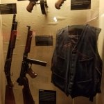 Gear and guns associated with the mob era