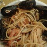 Spaguetti con pescado