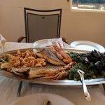 Fischplatte für 2 Personen
