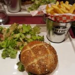 hamburger et frites maison