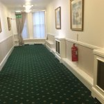Main corridor of hotel