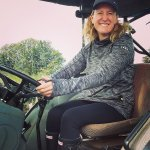 Loved my tractor driving experience!