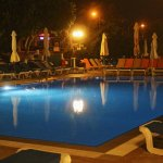 Pool in the Evening